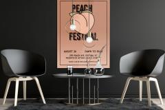 Peach Festival Poster
